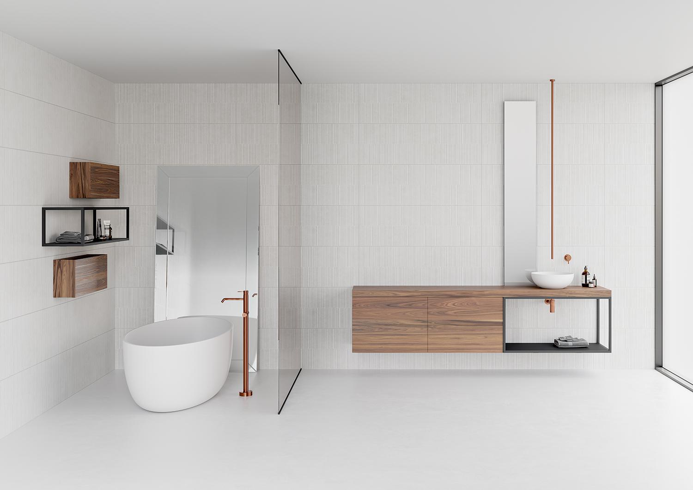 Quieres que tu baño parezca más grande? | Sanchis Mobiliario